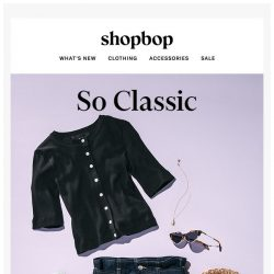 [Shopbop] Jean skirts, lightweight knits, and more essentials