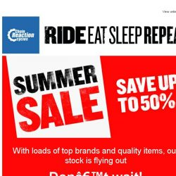 [Chain Reaction Cycles] Best of Sale: Quality Products. More Discounts. Winning!
