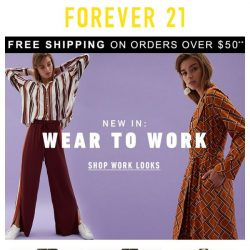 [FOREVER 21] These looks are PERFECT for work
