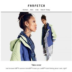 [Farfetch] Your new-season coat inspiration starts here