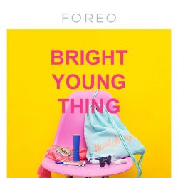 [Foreo] Get Rid of Your Pimples