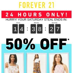 [FOREVER 21] ***24 HOURS ONLY***