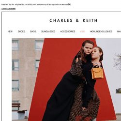 [Charles & Keith] Discover the Fall/Winter 2018 collection
