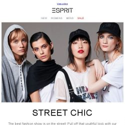 [Esprit] The best fashion show is on the street!
