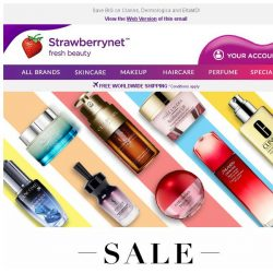 [StrawberryNet] , Extra 10% Off Skincare Knockin' at Your Door
