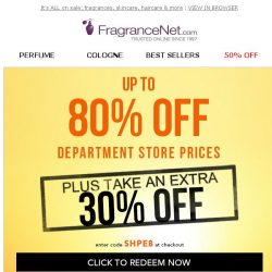 [FragranceNet] Your 30% OFF Shopping Pass