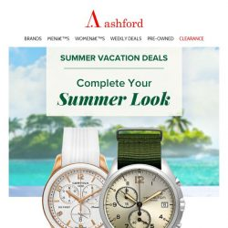 [Ashford] This Seasons Latest Styles and Trends, Save Now!