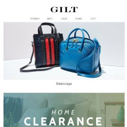 [Gilt] Balenciaga | Up to 80% Off Home
