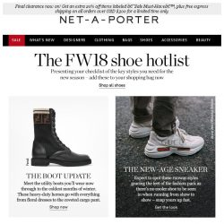 [NET-A-PORTER] The 6 shoes you need this season