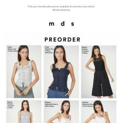 [MDS] So. Many. New. !| Launched Online