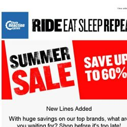 [Chain Reaction Cycles] New Lines Added! Save up to 60%