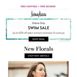 [Neiman Marcus] New arrivals are blooming