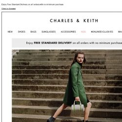 [Charles & Keith] FINAL HOURS | Free Standard Delivery