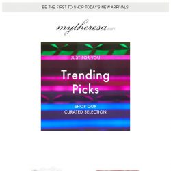 [mytheresa] Catch our top picks while you can