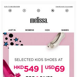 [Mdreams] HKD549|USD69 for 2 pairs of Kids shoes. Limited time only