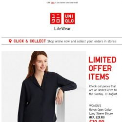 [UNIQLO Singapore] You'd want to check these out