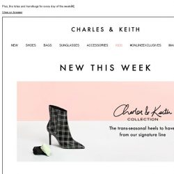 [Charles & Keith] The trans-seasonal heels to have