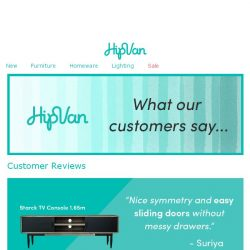 [HipVan] Thanks for the great reviews!😘