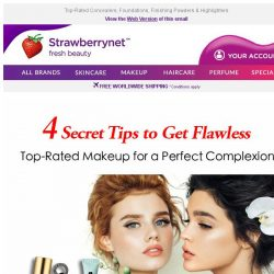 [StrawberryNet] 4 Secret Tips to Get Flawless ✨☺️Hello, Perfect Complexion!