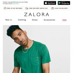 [Zalora] GAP is now on ZALORA!