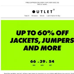 [ASOS] Up to 60% off jackets, jumpers and more