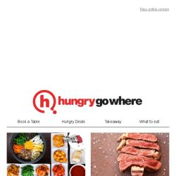 [HungryGoWhere] Wallet-friendly dining deals near the MRT stations: 50% Off Black Angus Prime Ribeye Steak, 1-for-1 Lunch/Dinner Buffet, and more!