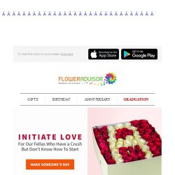 [Floweradvisor] Sometimes it's hard to speak out words. Let just flowers do the talking for you!