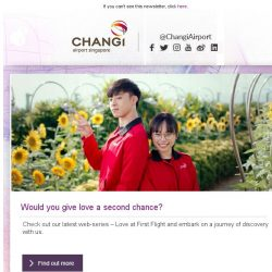 [Changi Airport] , we want to know you better 