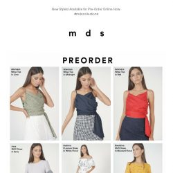 [MDS] Time For NEW   Preorder Now