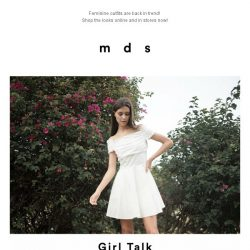 [MDS] Girl Talk   Launched Online and In-Stores