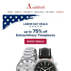 [Ashford] Great New Savings with This Week's Deals