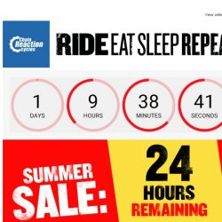[Chain Reaction Cycles] 24 Hours Left of SUMMER SALE!  ⏰