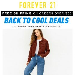 [FOREVER 21] Back to School deals ending NOW!