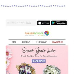 [Floweradvisor] Brand New Blooms Collection. Check Em Out and Make Someone Smile Today!