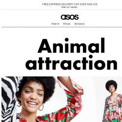 [ASOS] Zooming in on animal print