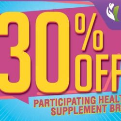 Unity Pharmacy: Enjoy 30% OFF Health Supplements from 21st Century, Swisse, Blackmores, Shaklee & More!