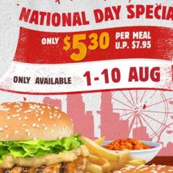 Burger King: Enjoy Taste of Singapore Meals for Just $5.30 Each (UP $7.95)!
