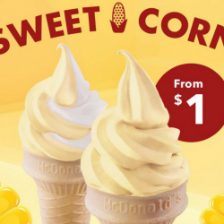 McDonald's: Long-Awaited Sweet Corn Ice Cream Cones are Back!