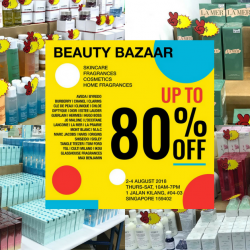 BeautyFresh: Bi-Annual Beauty Warehouse Sale with Up to 80% OFF Fragrances, Cosmetics & Skincare!