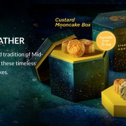 Starbucks: Starbucks Cardmembers Enjoy 15% OFF Mooncakes with Purchase of 2 Boxes or More