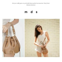 [MDS] Bag it up! | New Bags launched