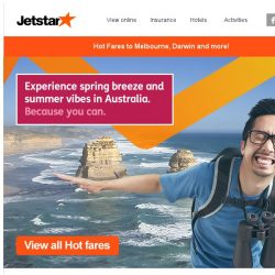 [Jetstar] ✈ Great Aussie escapades and more! Book your next adventure today.