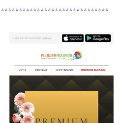 [Floweradvisor] Because she is special. We create these premium collections for her. Check them out!