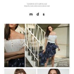 [MDS] Contemporary Fusion| Launched Online and In-Stores