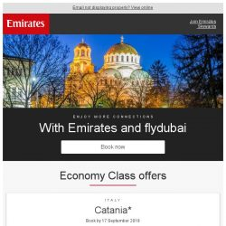 [Emirates] Uncover Europe's hidden gems with Emirates and flydubai