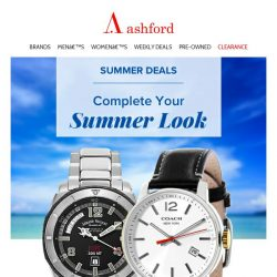 [Ashford] New Weekly Deals with great savings