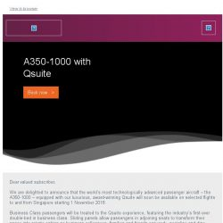 [Qatar] Introducing the A350-1000 with Qsuite