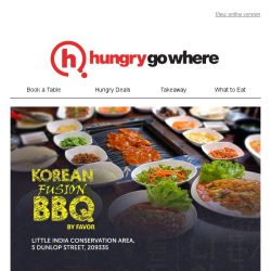[HungryGoWhere] Call-Out for Meat Lovers! Get 1-for-1 Lunch/Dinner All-You-Can-Eat Buffet at Korean Fusion BBQ