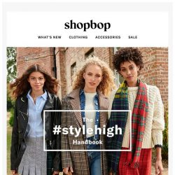 [Shopbop] Introducing Fall 2018: The Style High Handbook