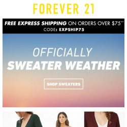 [FOREVER 21] THE COZIEST SWEATERS EVER
